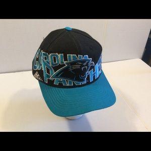 Accessories - Vtg Carolina Panthers Apex One Men s SnapBack Cap c92e1ad21
